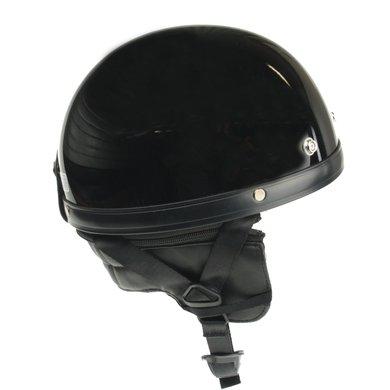 Classic pothelm glans zwart