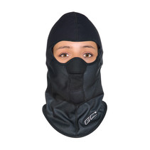 balaclava windproof black | helmet cap