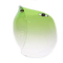 Bubble visor gradient green