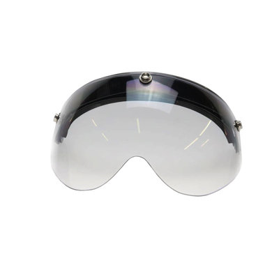 Flip up 3 button goggle visor clear