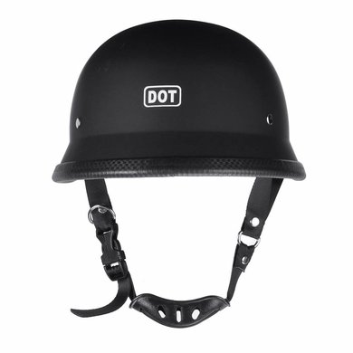 German motorcyle helmet matt black | outlet | size L