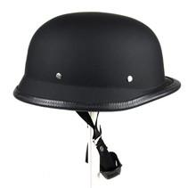 German motorcyle helmet matt black | outlet | size XL
