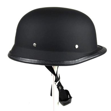 Duitse motorhelm mat zwart | outlet | maat XL