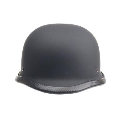 German motorcyle helmet matt black
