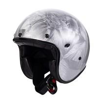 le petit classic DR jet helmet | silver