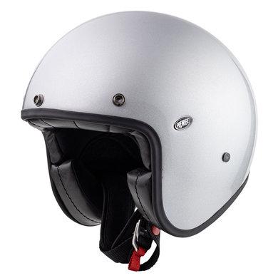 Premier le petit classic U10 glitter jet helmet | silver