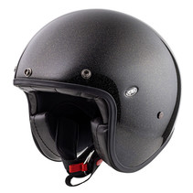 le petit classic U9 jet helmet glitter gold