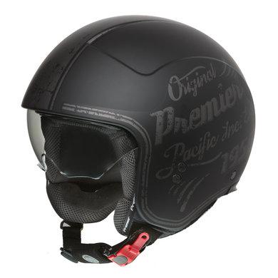 Premier rocker OR 9 jet helmet | black
