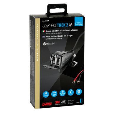 Lampa opti-line USB fix trek 2   USB oplader voor de motor