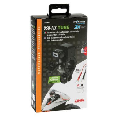 Lampa opti-line USB-fix tube | USB oplader voor de motor