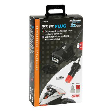 Lampa opti-line USB-fix plug | USB oplader voor de motor