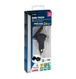 Lampa opti-line Din-Tech 1 | USB oplader voor de motor