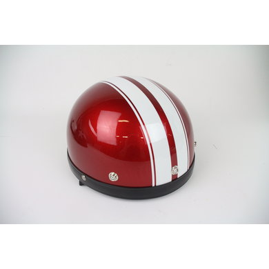 Moto red-white pothelm | maat L | outlet