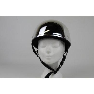Silver reflection half helmet | outlet