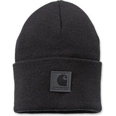 Carhartt black label watch hat  | black | knitted beanie
