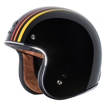 T-50 1978 open face helmet black