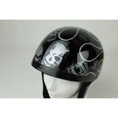 Skull glitter pothelm | outlet