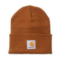 acrylic watch hat | brown | knitted beanie