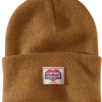 heritage beanie | brown | knitted beanie
