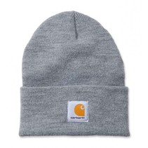 acrylic watch hat | heater grey | knitted beanie