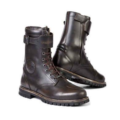 Stylmartin rocket motorcycle shoes brown