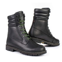 yurok motorcycle shoes | black