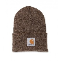 acrylic watch hat | sandstone | knitted beanie
