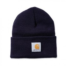 acrylic watch hat | navy | knitted beanie