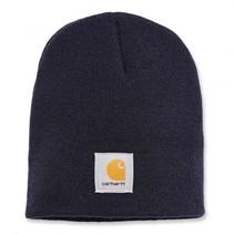 acrylic knit hat beanie | navy | muts