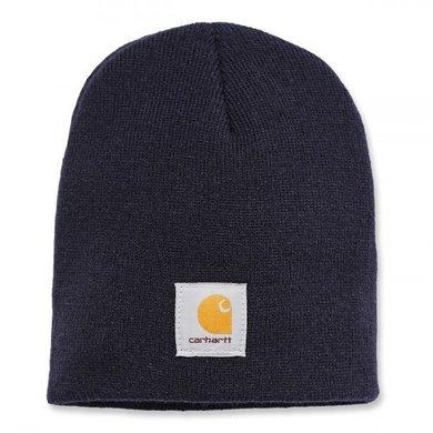 Carhartt acrylic knit hat | navy | knitted beanie
