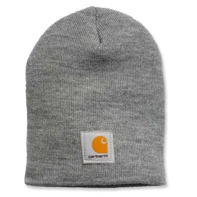 Carhartt acrylic knit hat | heather grey | knitted beanie