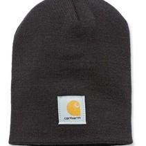 acrylic knit hat beanie | black | muts