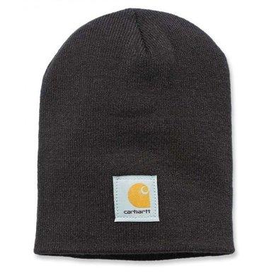Carhartt acrylic knit hat | black | knitted beanie