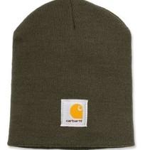 acrylic knit hat beanie | dark green | muts