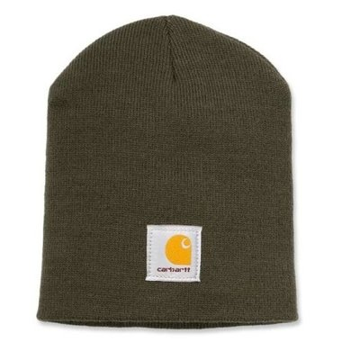 Carhartt acrylic knit hat | dark green | muts