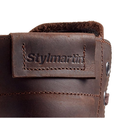 Stylmartin district brown leather motorcycle shoes