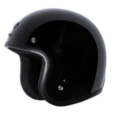 Torc T50C jet helmet gloss black