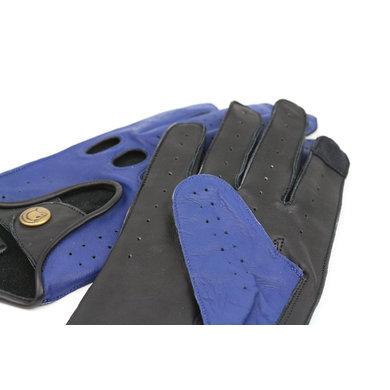 Gladiator racing leren autohandschoenen space blue