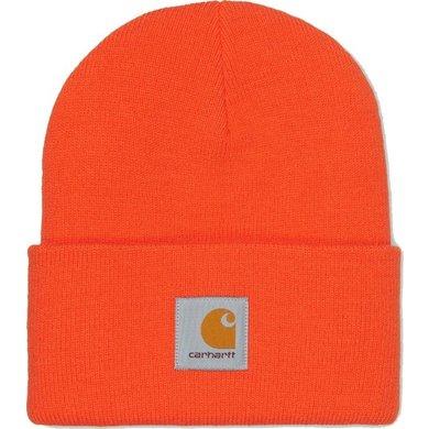 Carhartt acrylic watch hat | bright orange | knitted beanie