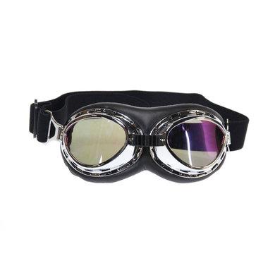 CRG chrome rider motor goggles