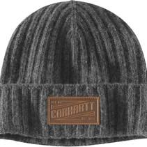seaford beanie | heather grey - grijs | lamswollen muts
