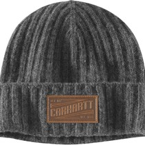 seaford beanie | heather grey | lambswol