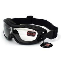 night hawk clear motor goggles