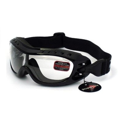 Bobster night hawk clear motor goggles