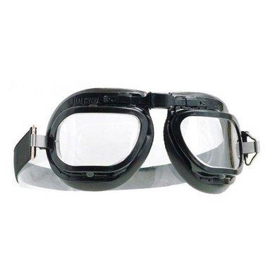 Halcyon mark 6 racing motorbril zwart