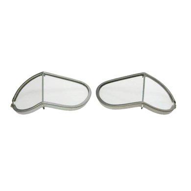Halcyon reserve lenzen motorbril echt helder glas