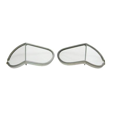 Halcyon spare lenses motor goggles real clear glass