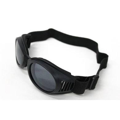 Zwarte aviator bril