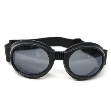 Black aviator goggles