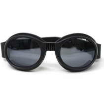 Black aviator goggles